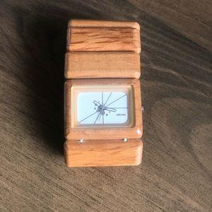 NIXON VEGA watch 'wooden'